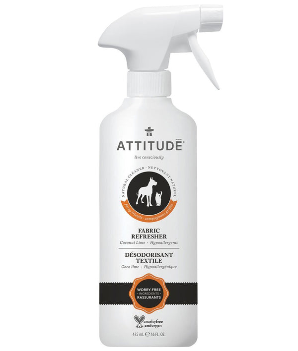 82600 ATTITUDE - Furry Friends™ - Fabric Refresher Pet Odor Eliminator - Coco Lime _en?_main?