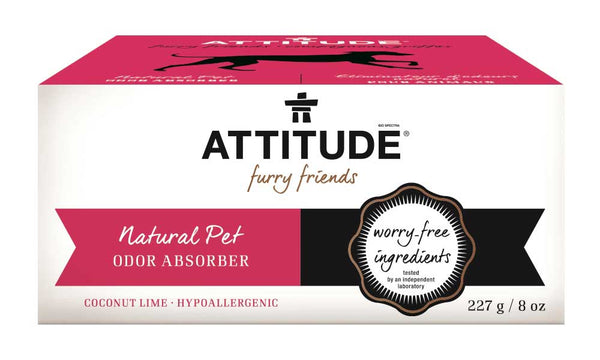 85270 ATTITUDE - Furry Friends™ - Natural Pet Odor Absorber - Coco Lime  _en?_main?