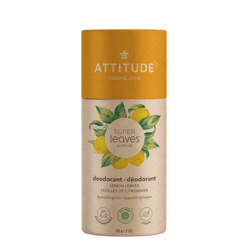 ATTITUDE Super leaves Déodorant biodégradable Feuilles de citronnier _fr?