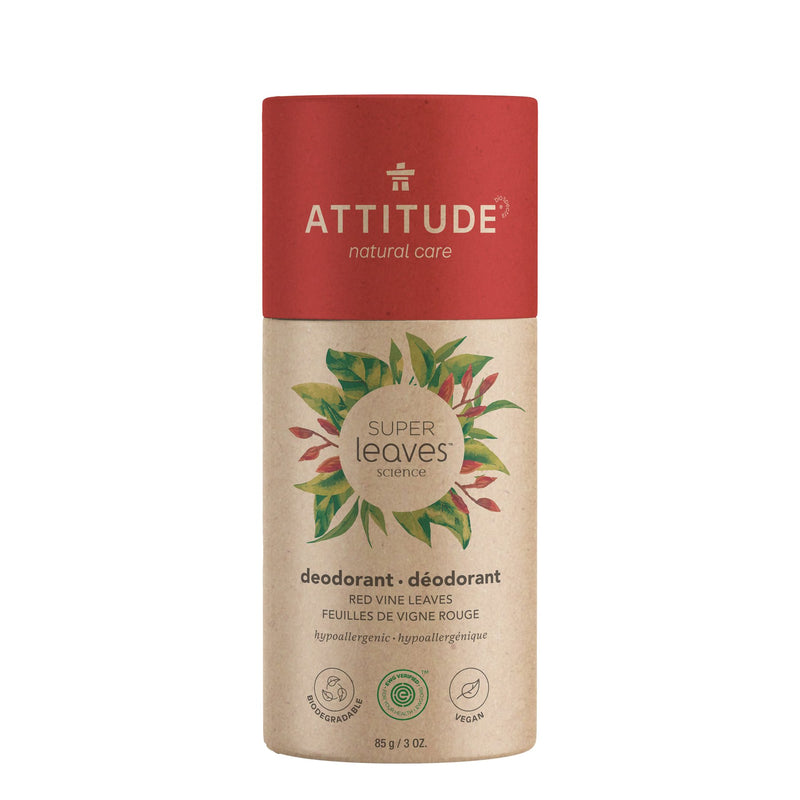 ATTITUDE Super leaves Déodorant biodégradable Feuilles de vigne rouge _fr?