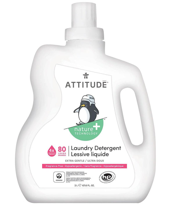 Hypoallergenic Baby Laundry Detergent 80 loads - Fragrance-free front _en?_main?