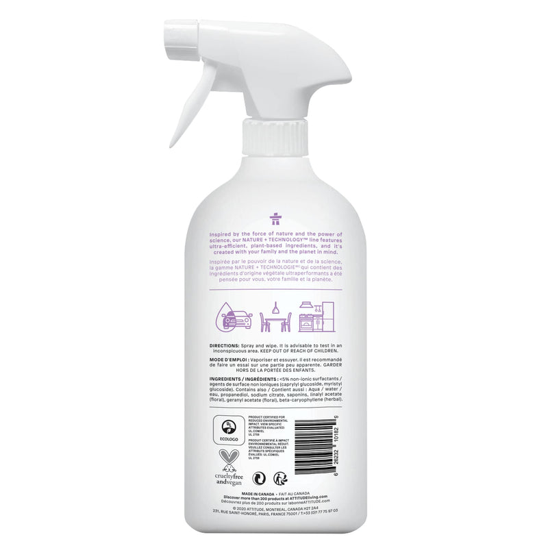 ATTITUDE Nettoyant multi-surfaces naturel lavande 800 mL 10182 _fr?_hover?