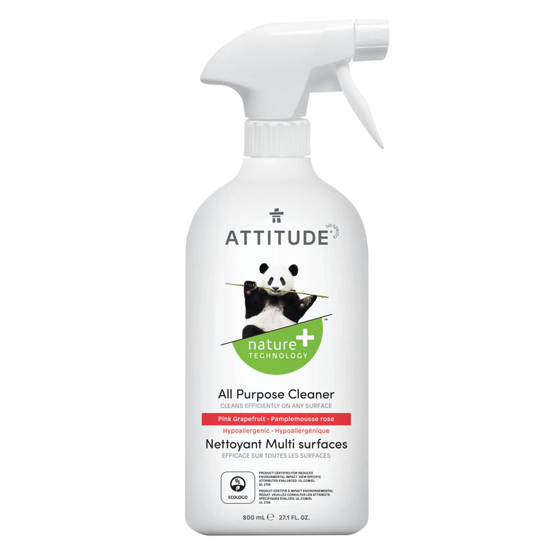 ATTITUDE Natural All purpose cleaner pink grapefruit 27,1 Fl. Oz 800 mL 10186 _en?_main?
