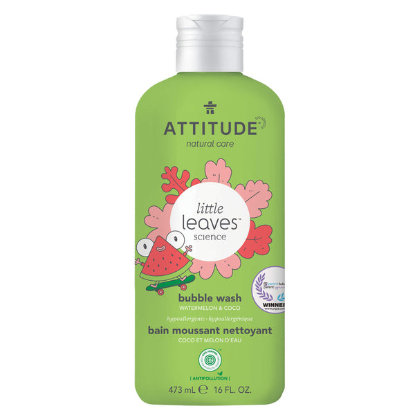 18317 ATTITUDE Little Leaves™  Bain moussant enfant  Coco Melon d'eau _fr?_main?