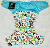 One-Size READY TO SHIP Super-Fit Organic Cloth Diaper