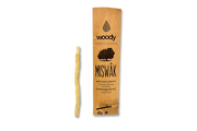 Cure-Dent Naturel Miswak en Bois d'Arak | Woody® | Nettoie et Renforce Dents & Gencives