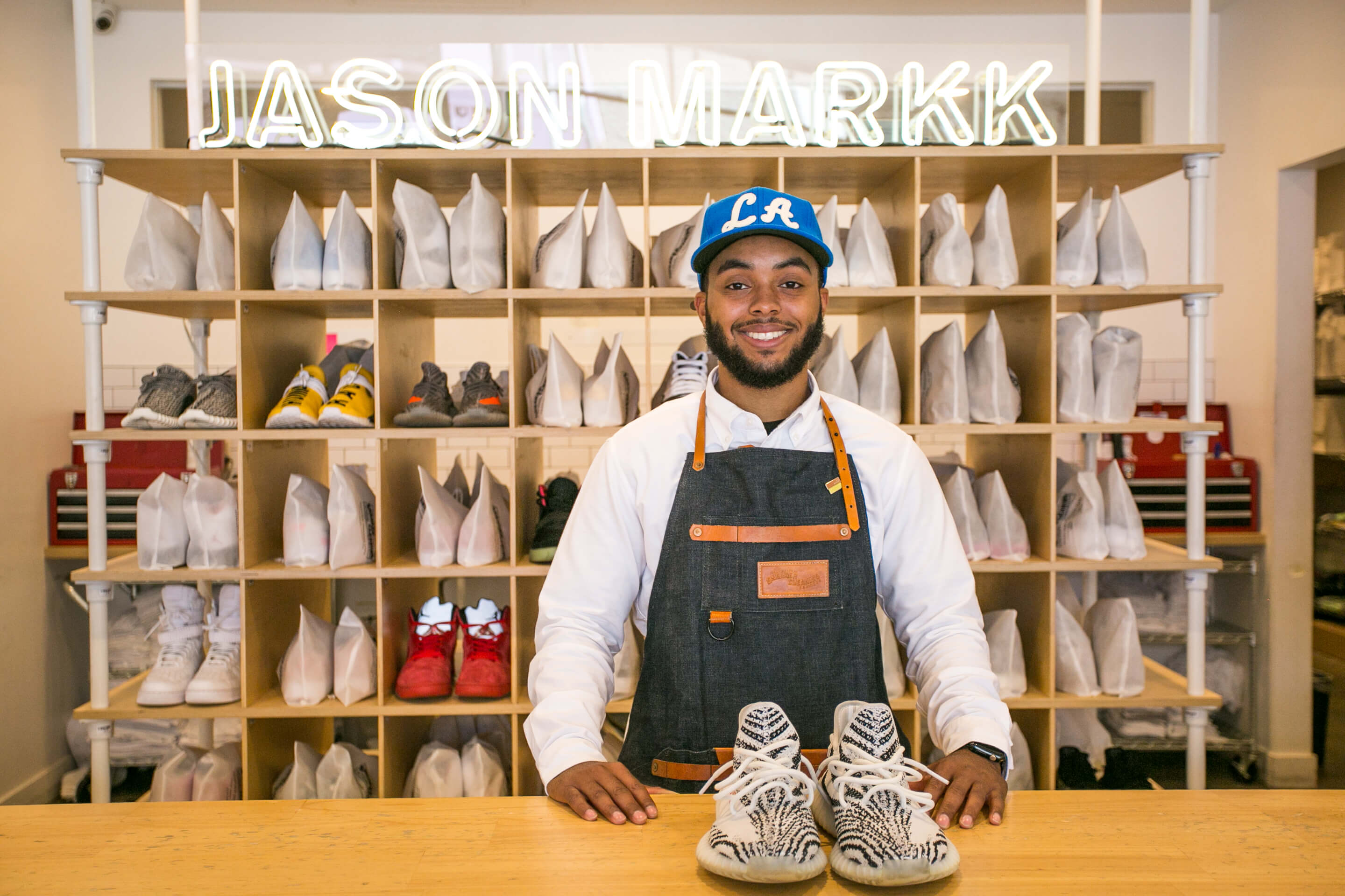 Jason Markk Los Angeles Flagship Store. Drop off Sneaker Cleaning Service