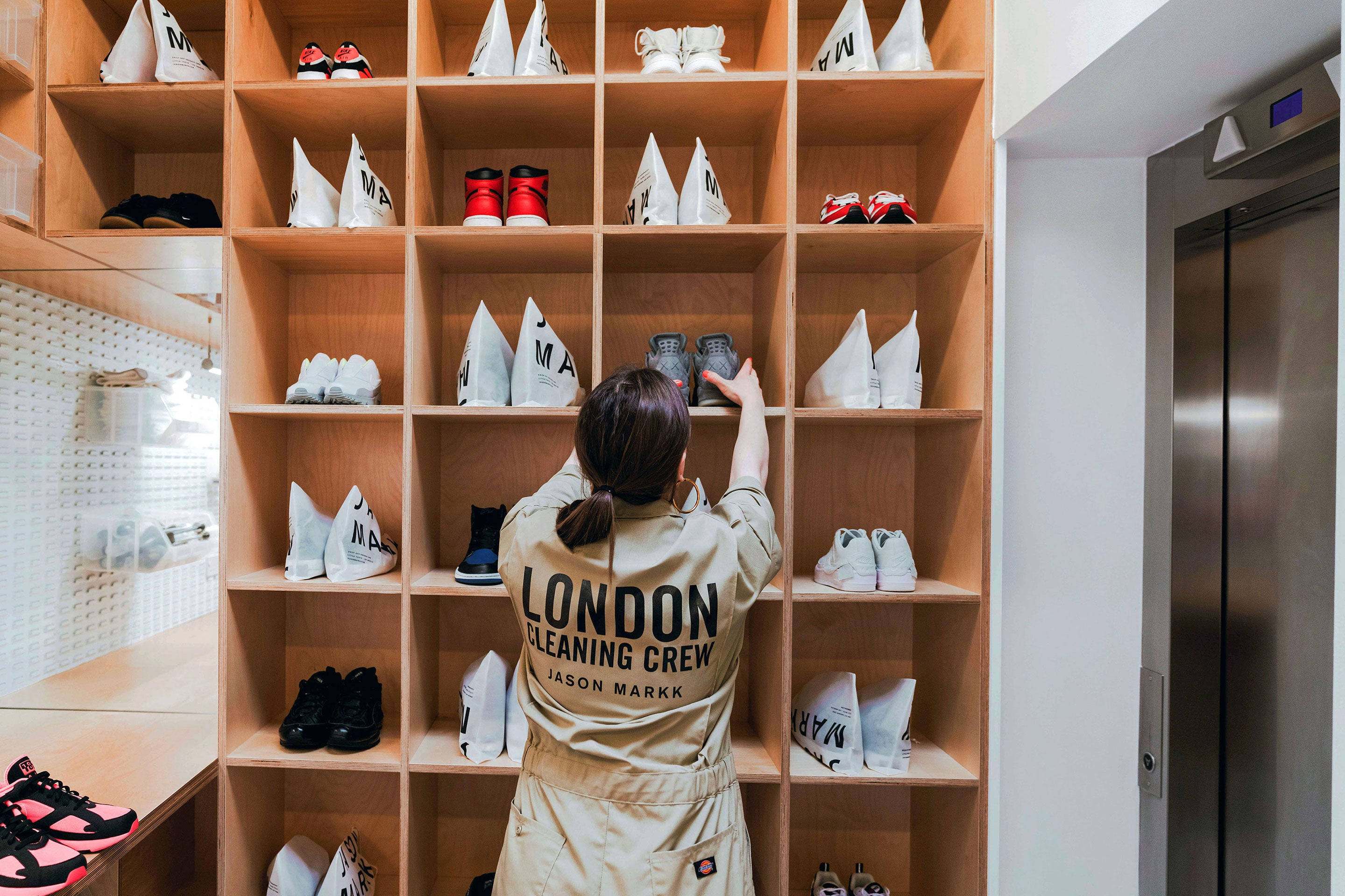 Jason Markk London Flagship Store. Drop off Sneaker Cleaning Service