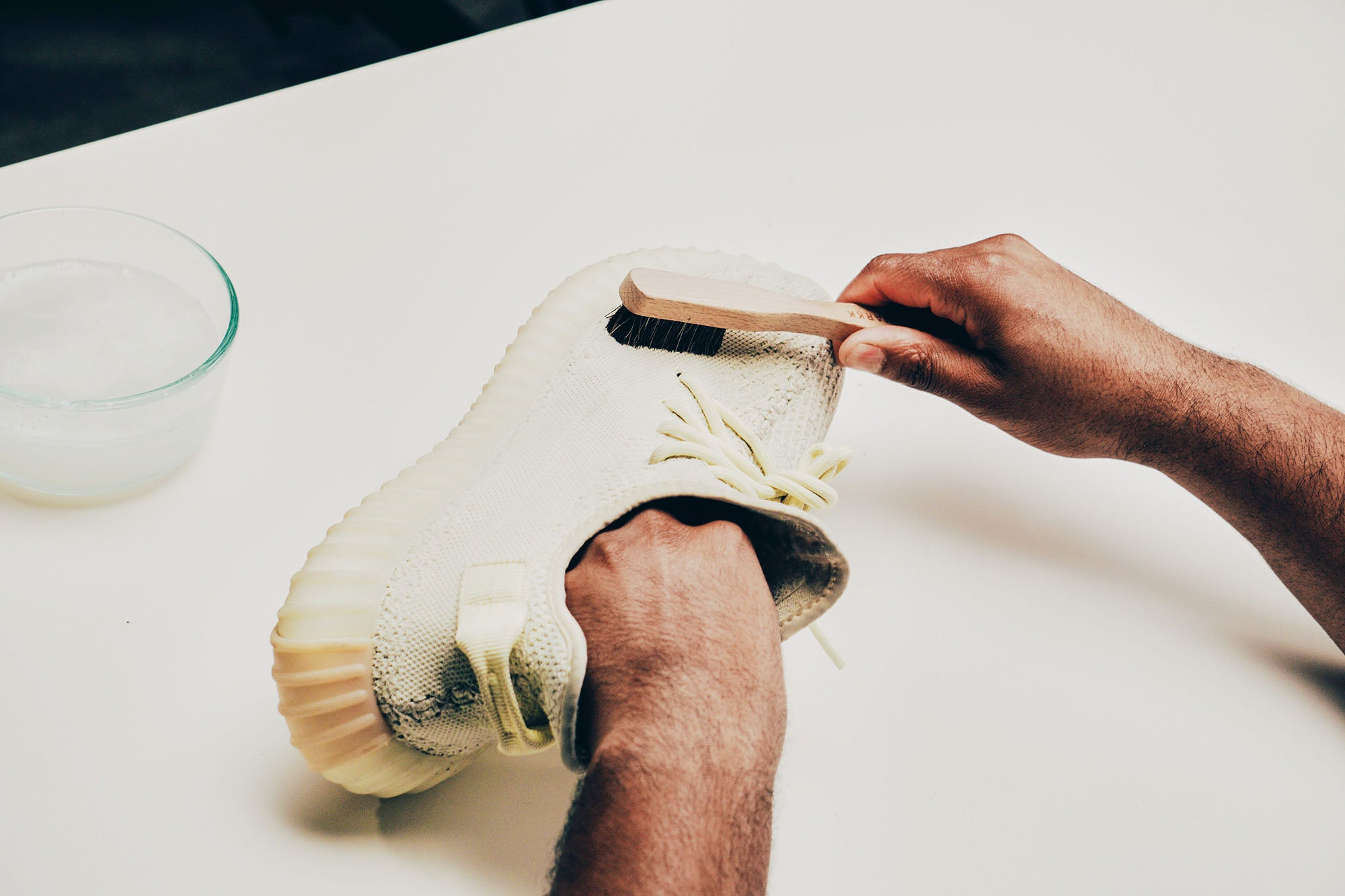 Jason Markk How-to Clean Knit Shoes Step 1