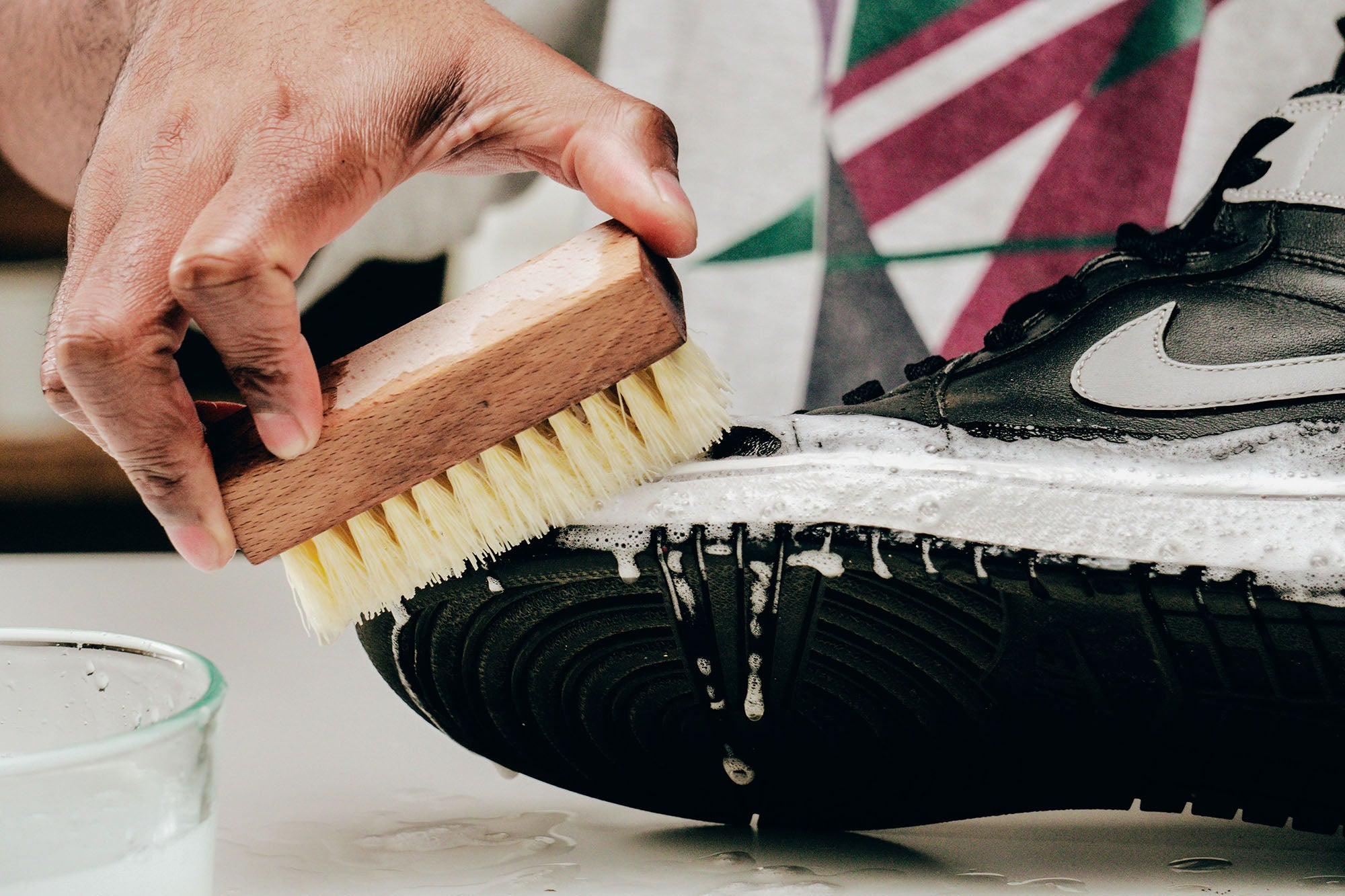 Jason Markk How-to Clean Leather Shoes Step 2