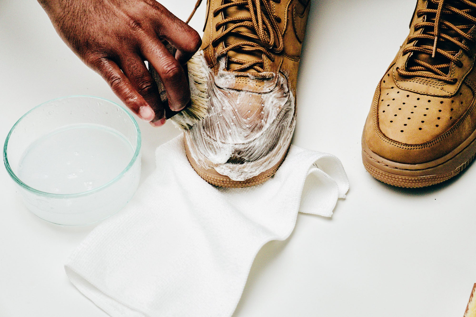 Jason Markk Sneaker Care 101 How to clean Nubuck shoes step 11