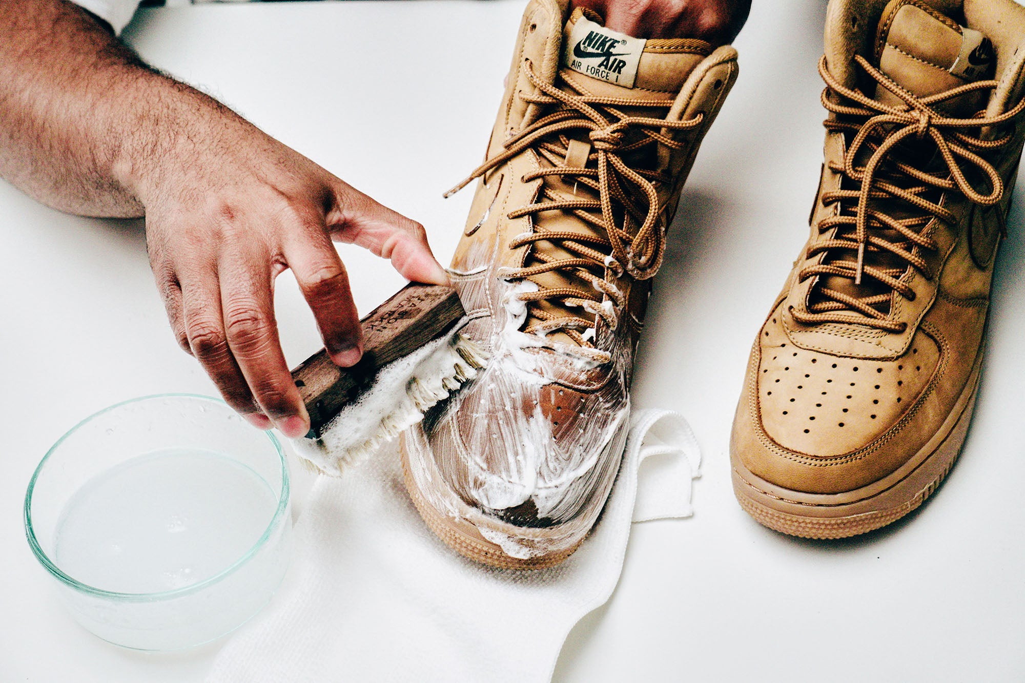 Jason Markk Sneaker Care 101 How to clean Nubuck shoes step 12
