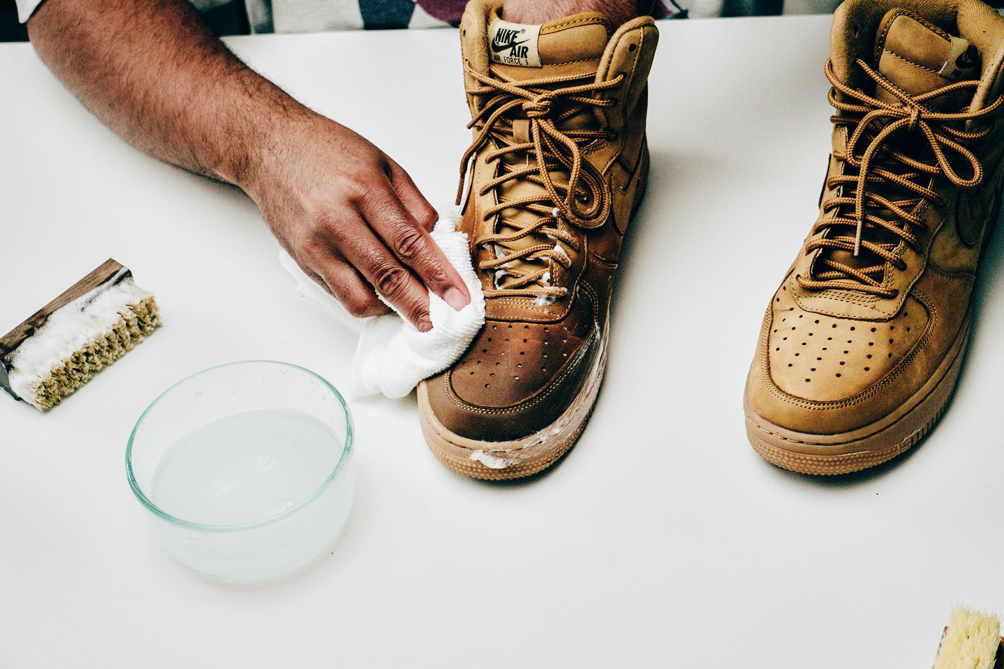 Jason Markk Sneaker Care 101 How to clean Nubuck shoes step 13