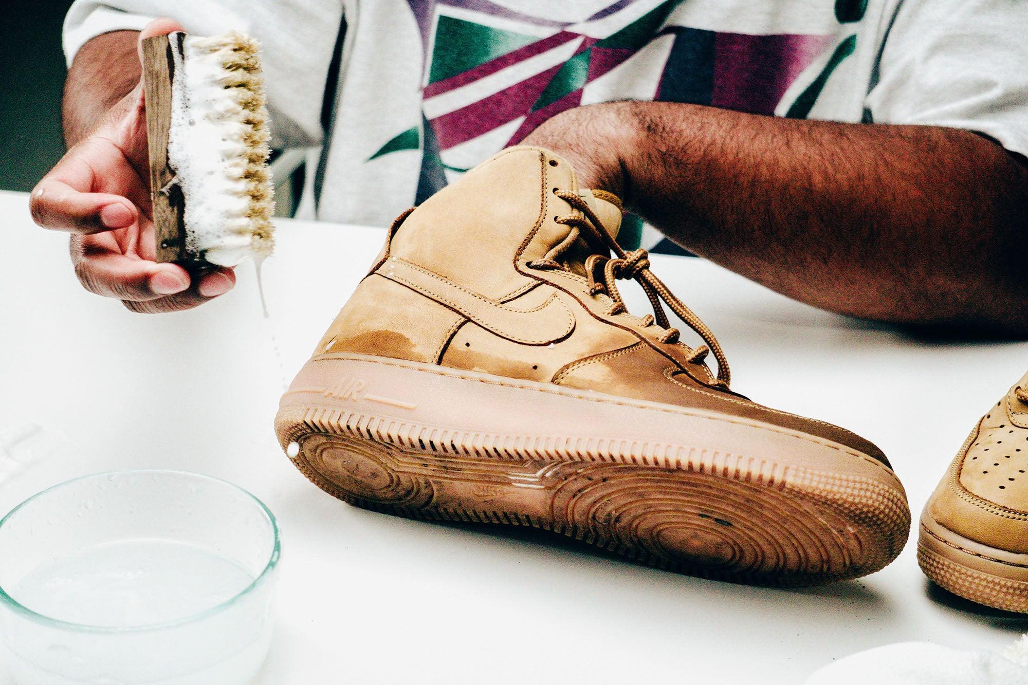 Jason Markk Sneaker Care 101 How to clean Nubuck shoes step 14