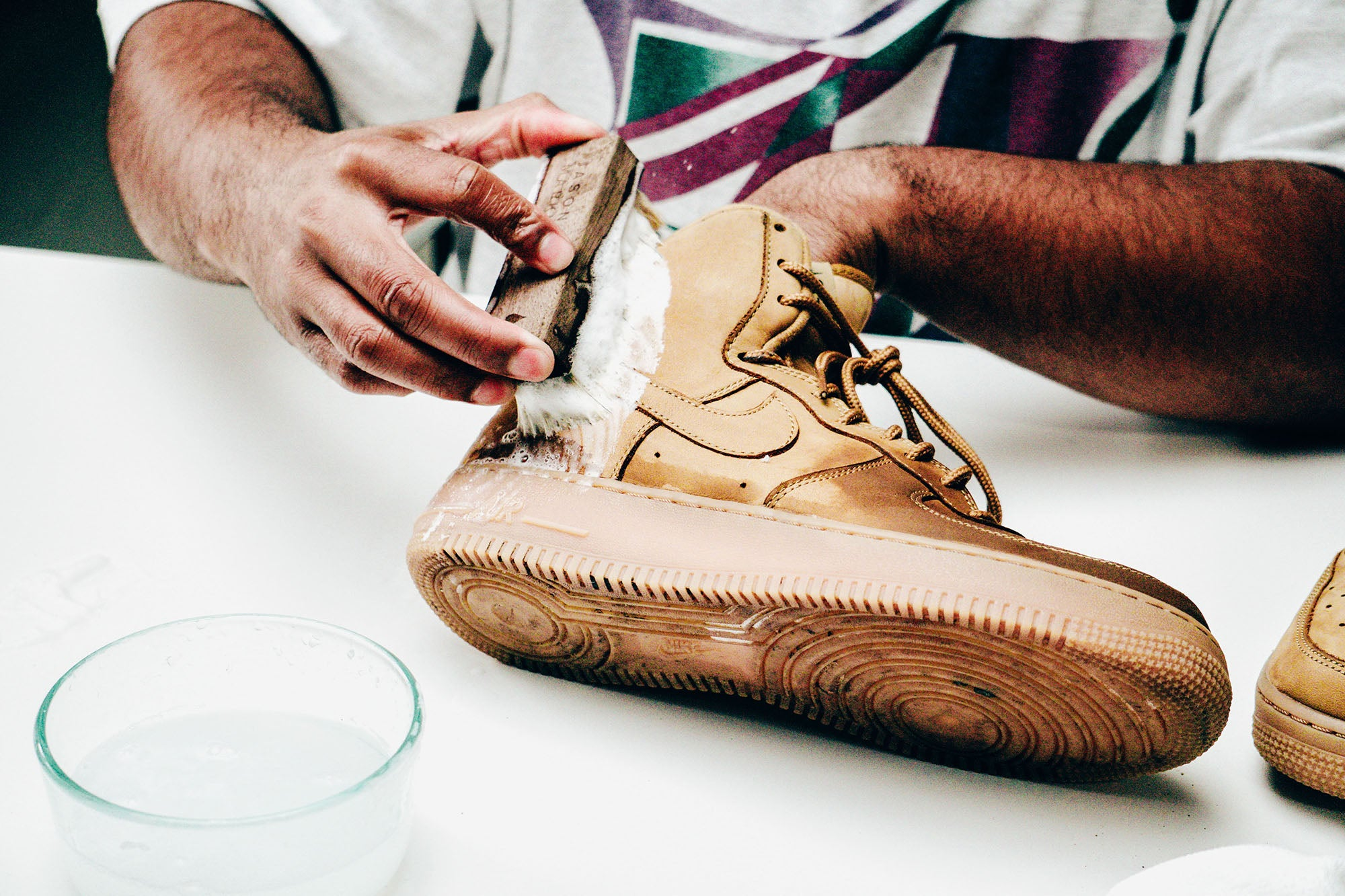 Jason Markk Sneaker Care 101 How to clean Nubuck shoes step 15