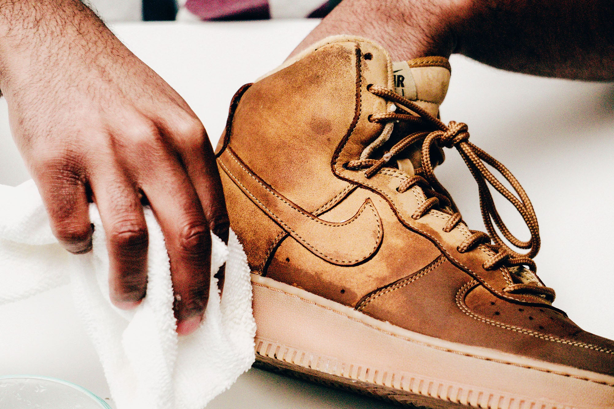 Jason Markk Sneaker Care 101 How to clean Nubuck shoes step 17