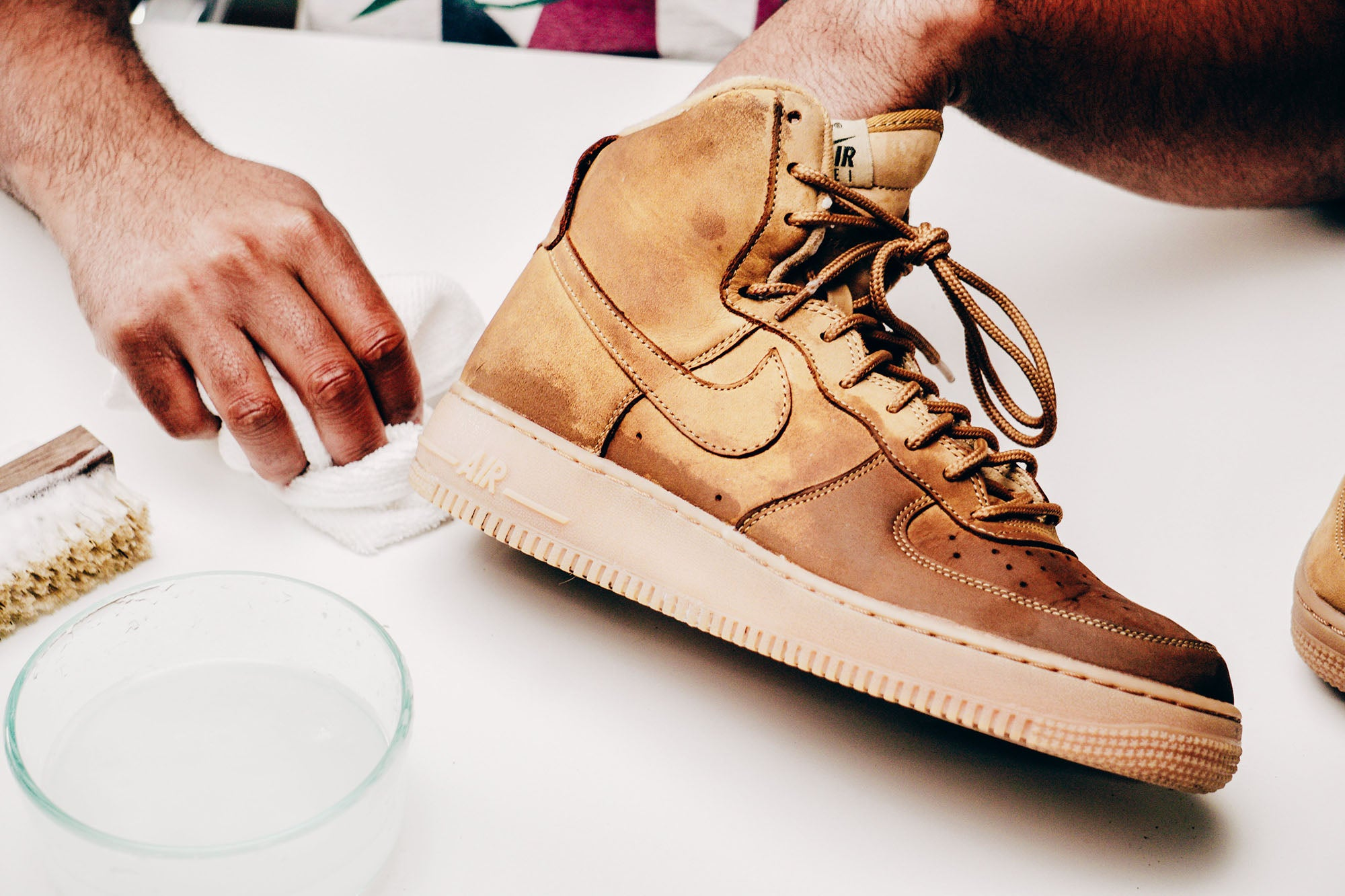 Jason Markk Sneaker Care 101 How to clean Nubuck shoes step 18