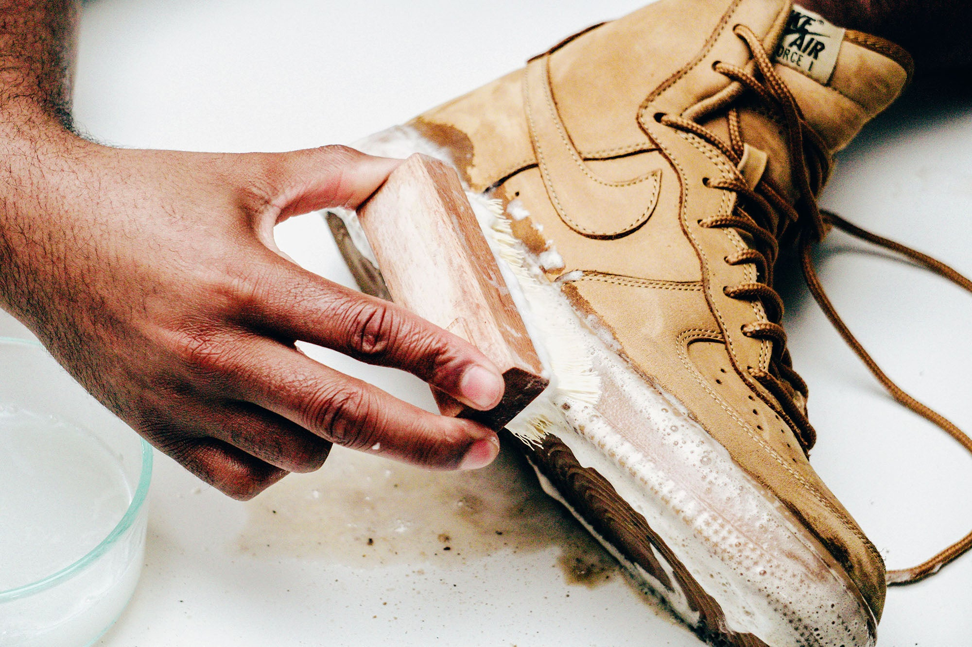 Jason Markk Sneaker Care 101 How to clean Nubuck shoes step 7