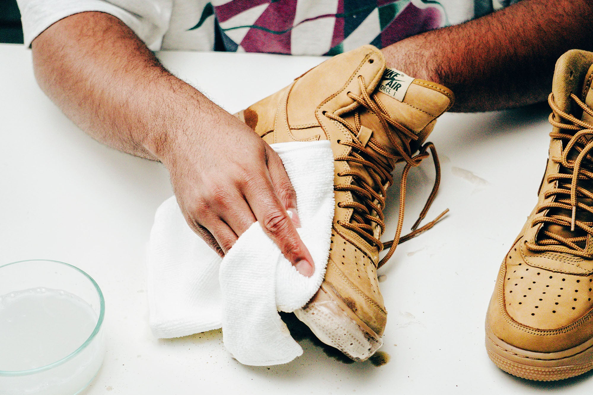 Jason Markk Sneaker Care 101 How to clean Nubuck shoes step 8
