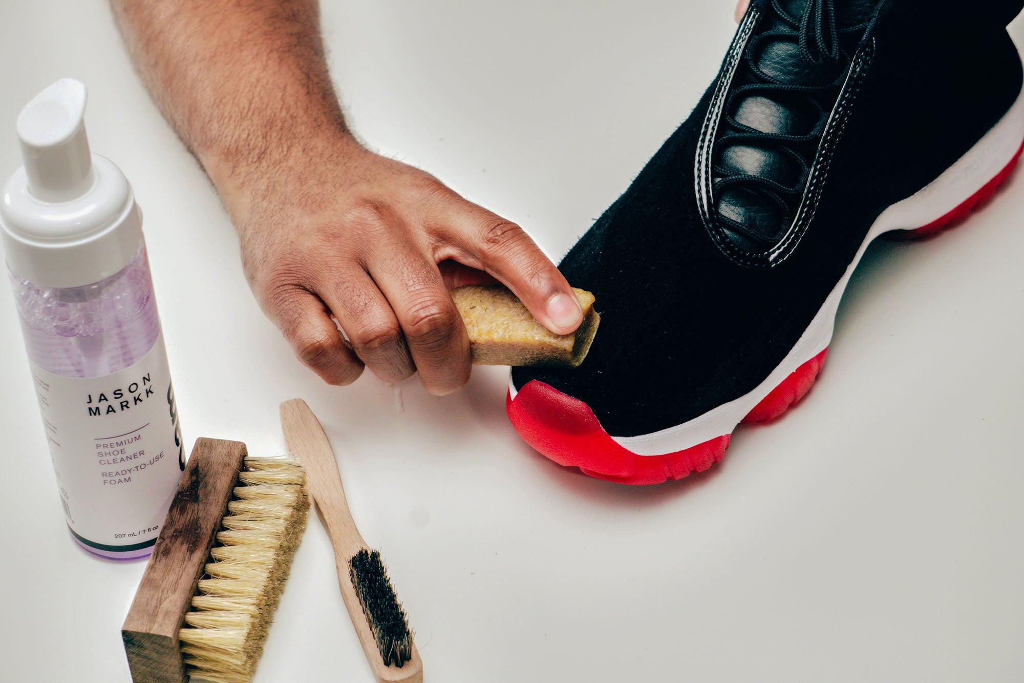 Jason Markk Sneaker Care 101 How to clean Suede shoes step 12