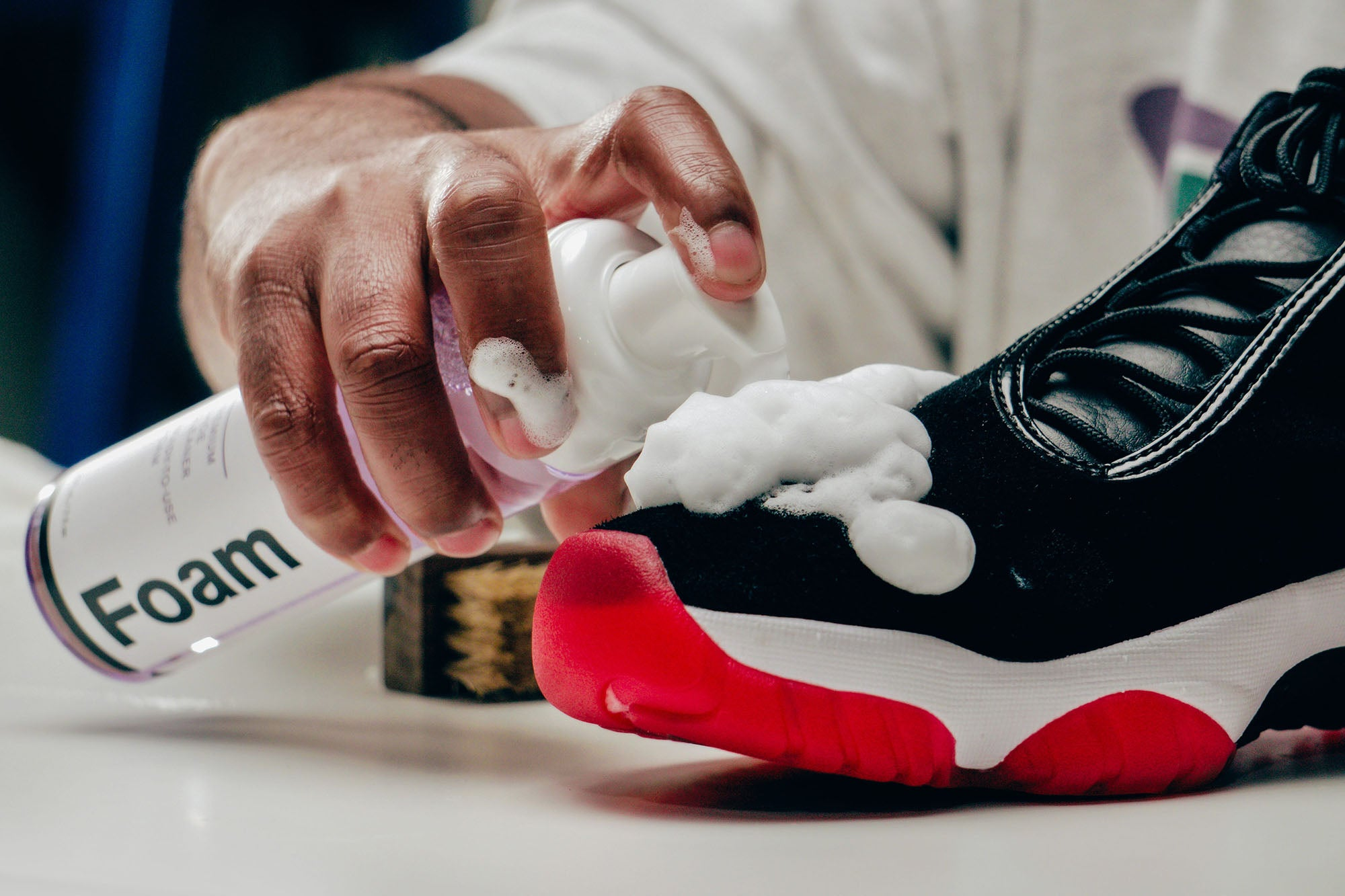 Jason Markk Sneaker Care 101 How to clean Suede shoes step 9