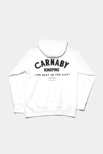 Jason Markk London Flagship Carnaby store exclusive Hoodie. Size Small - XXL, White & Black.
