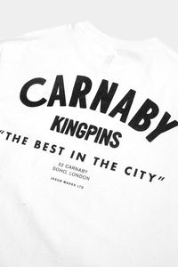 Jason Markk London Flagship Carnaby store exclusive T-Shirt. Size Small - XXL, White & Black.