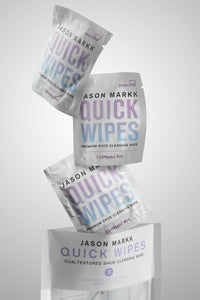 Jason Markk Quick Wipes - 3 Pack. Perfect travel sneaker cleaning wipes.