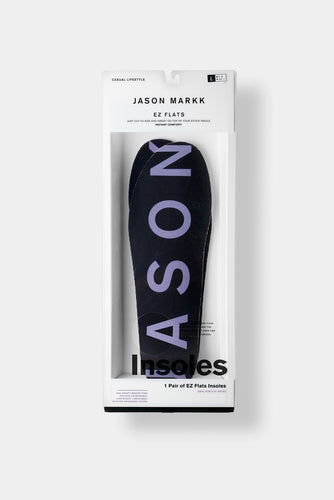 Jason Markk EZ Flats Insoles. Available Sizes; Small-XXL.