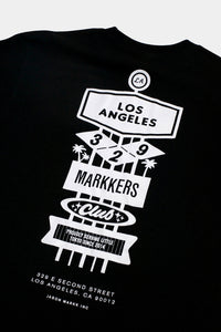 Jason Markk Los Angeles Flagship store exclusive T-Shirt. Size Small - XXL, Black & White.