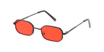 Item: 4791COL Unisex Metal Retro 90s Small Geometric Frame w/ Color Lens