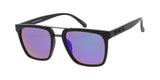 "Item: 7710KSH/RV ""KUSH""   Combo Medium Square Woodgrain Frame w/ Color Mirror Lens"