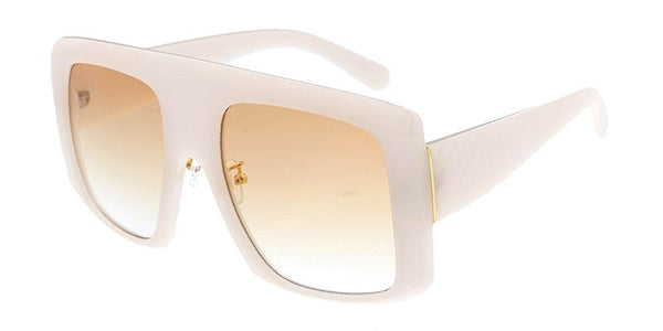 Item: 7905 Women's Plastic Large Rectangular Flat Top Frame