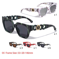"""KHAN"" Item: M3311-KN Solid One Piece Lens"