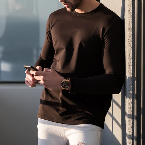 Men's Black APEX Long Sleeve