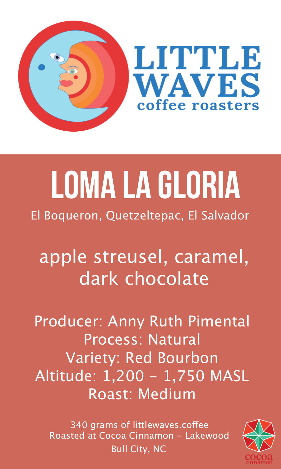 Loma La Gloria Red Bourbon Natural