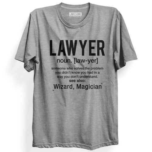 LAWYER T-shirt [GREY]
