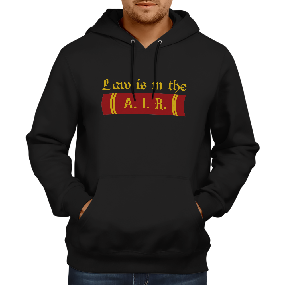 Law is in A.I.R. Hoodie [BLACK]