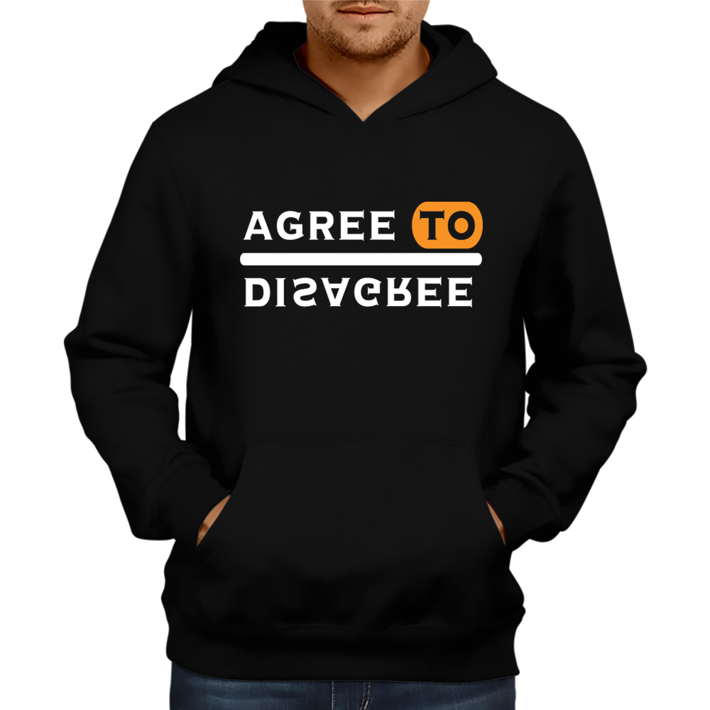 Agree to Disagree Hoodie [BLACK]