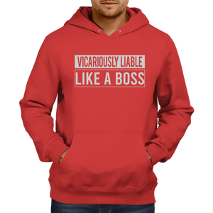 Vicariously Liable Hoodie [RED]