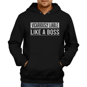 Vicariously Liable Hoodie [BLACK]