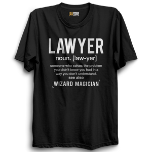 LAWYER Wizard T-shirt [BLACK]