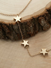 Load image into Gallery viewer, Golden Chain Star Detail Casual Lariat Necklace