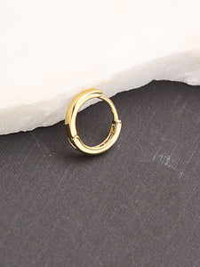 Golden Mini Hoop Earrings