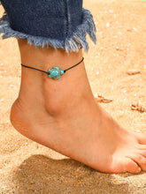 Load image into Gallery viewer, Multicolor 1pc Tortoise Detail Anklet