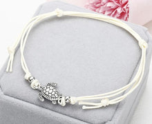 Load image into Gallery viewer, Multicolor Turtle Shaped Charm Rope String Anklets For Women