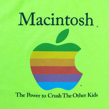 Vintage APPLE Macintosh Retro logo T-Shirt