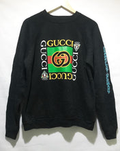 Vintage Bootleg GUCCI Sweatshirt in Black