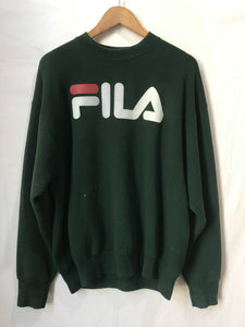 Vintage Fila Sweatshirt in Green