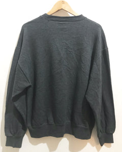 Vintage Bootleg Chanel sweatshirt in Dark Grey
